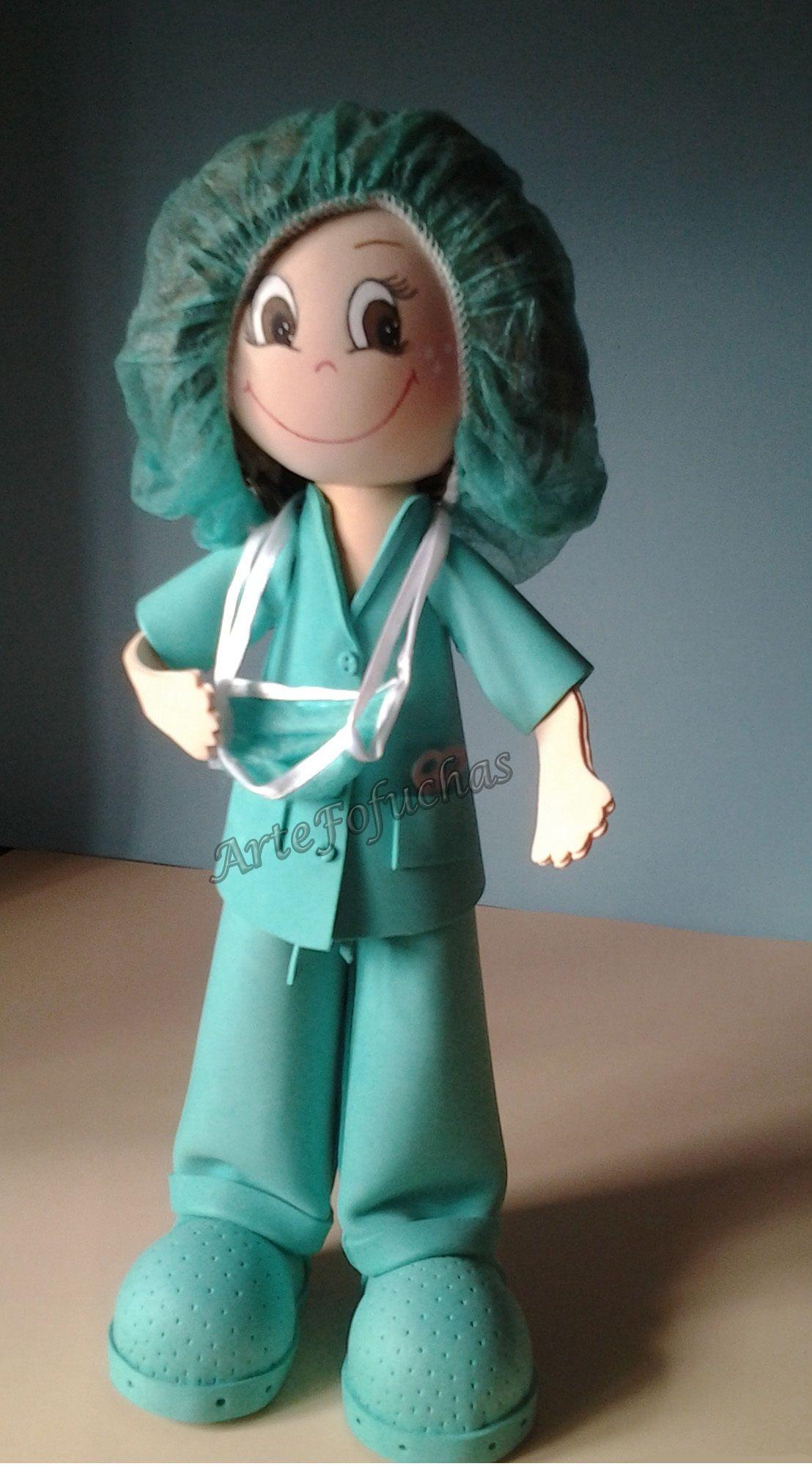 Worksheet. Fofucha Enfermera de quirfano  Enfermeras y medicos  Pinterest