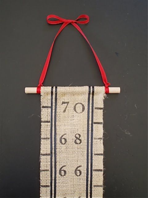 Diy Growth Chart Ive Been Looking For A Natural Look That I Make