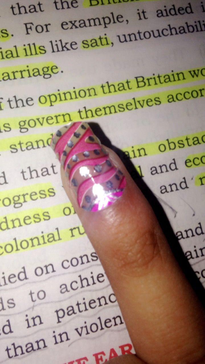 Sticker nail polish