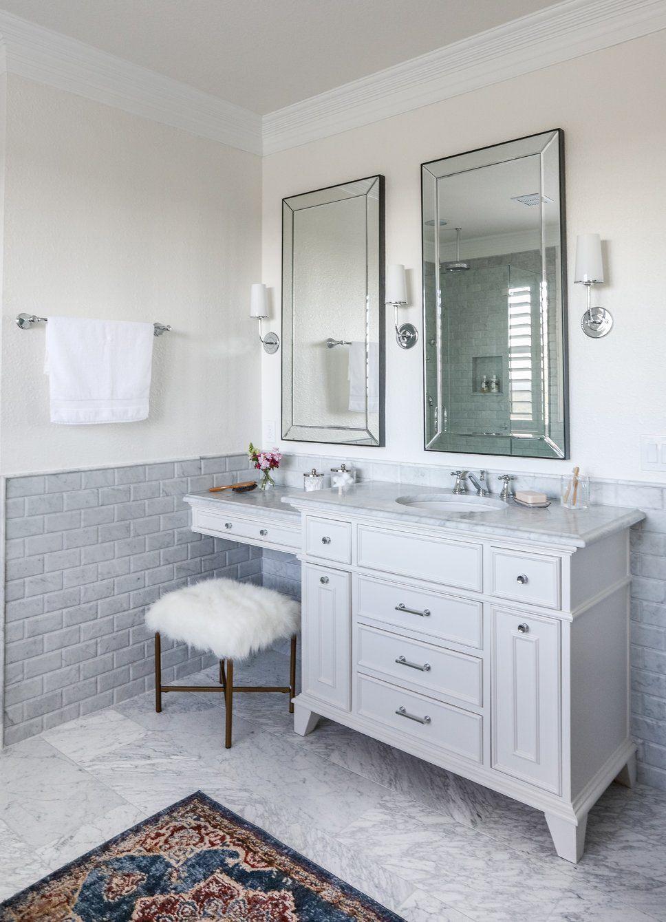Glam Bathroom Design Photo By Sarah Stacey Interior Design