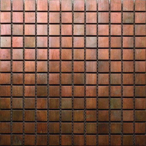 Ms13 Copper Mosaic Tiles Copper Mosaic Copper Mosaic Tile Mosaic Fireplace
