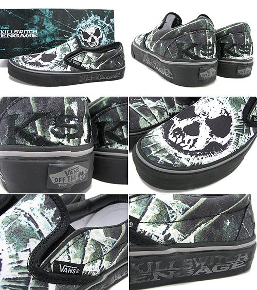 I want these Killswitch Engage Vans Shoes so much !  )   Kicks ... e17ae02c956