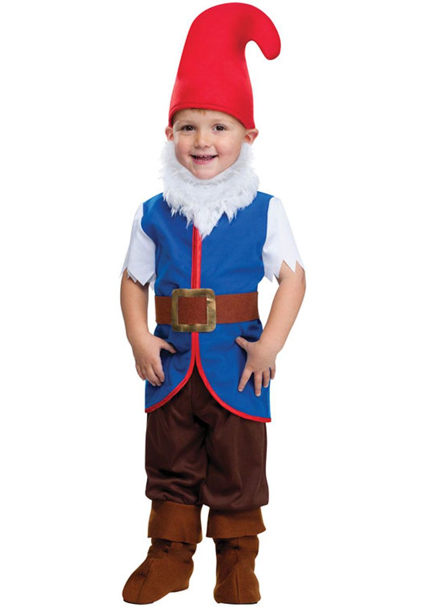 Gnome Costume, Toddler Fancy Dress - Children Fantasy Costumes at ...