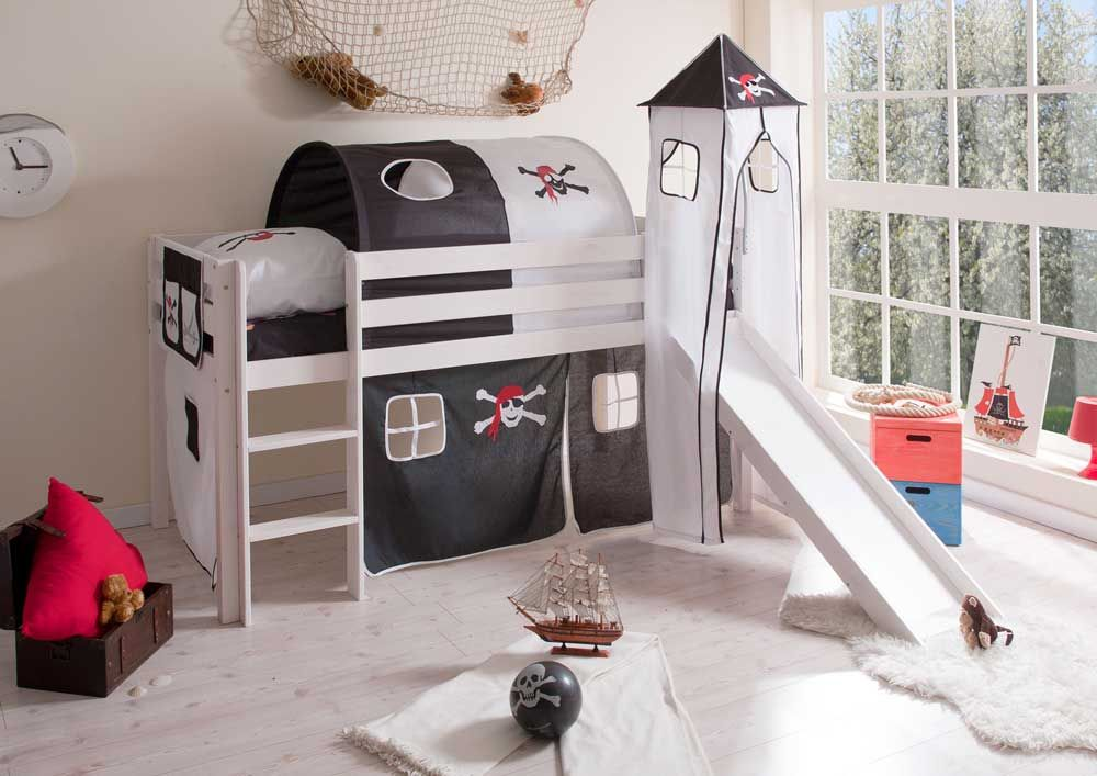 piratenbett mit turm rutsche jetzt bestellen unter. Black Bedroom Furniture Sets. Home Design Ideas