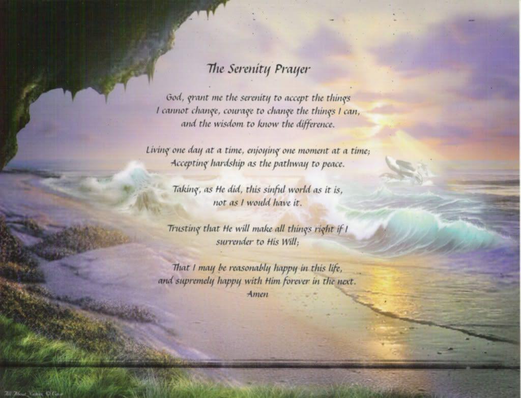 Serenity Prayer Serenity Prayer Wallpaper Serenity Prayer Prayer Wallpaper