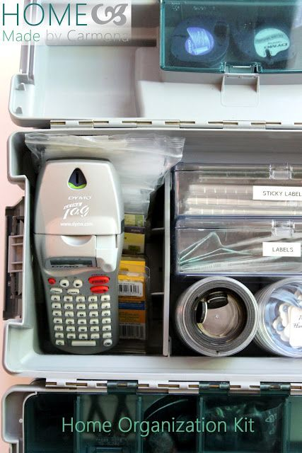 Home Made by Carmona: Creating an Organization Kit