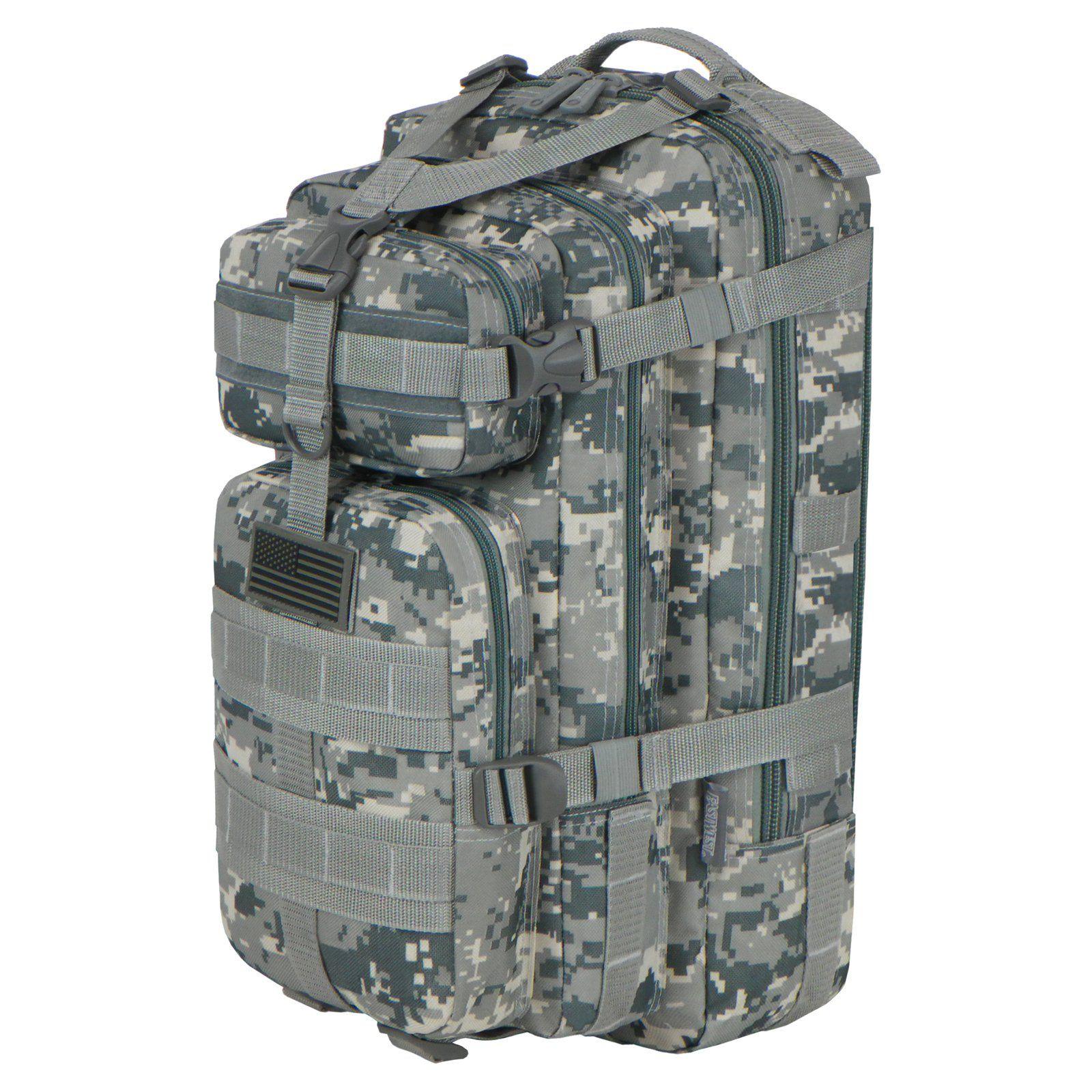East West U.S.A. Tactical Molle Military ACU Rucksack Backpack - RTC502 - ACU