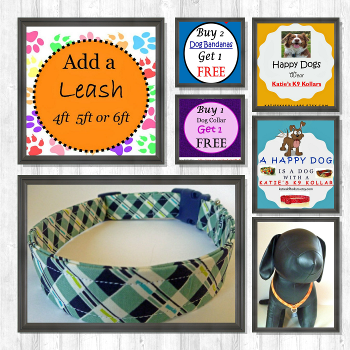 Follow us on Pinterest to be the first to see new products & sales. Check out our products now: https://www.etsy.com/shop/katiesk9kollars?utm_source=Pinterest&utm_medium=Orangetwig_Marketing&utm_campaign=Auto-Pilot