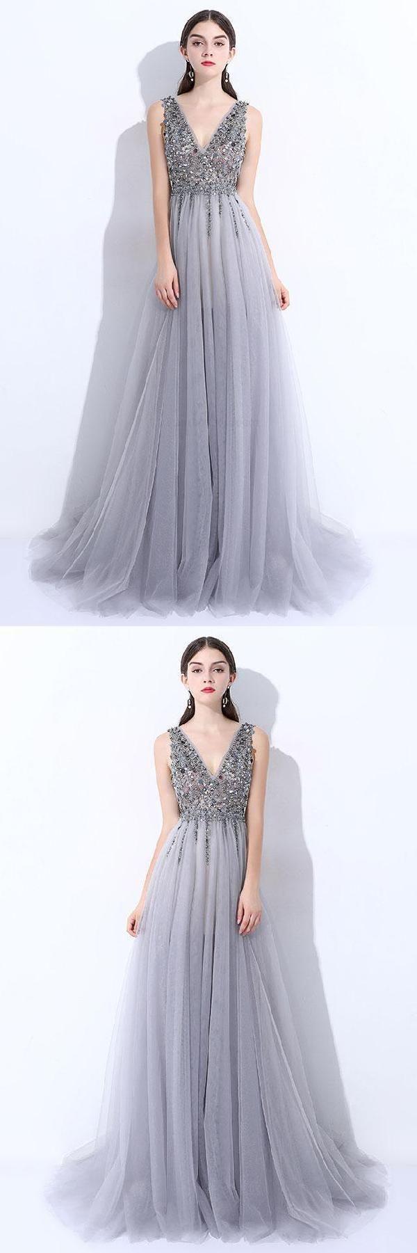 Vneck prom dresses prom dresses long vneck prom dresses long