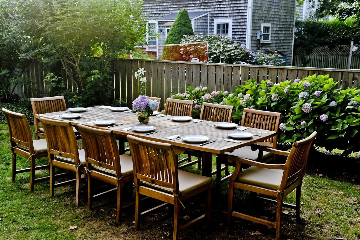 Anticipating a great summer meal outdoor decor vacation