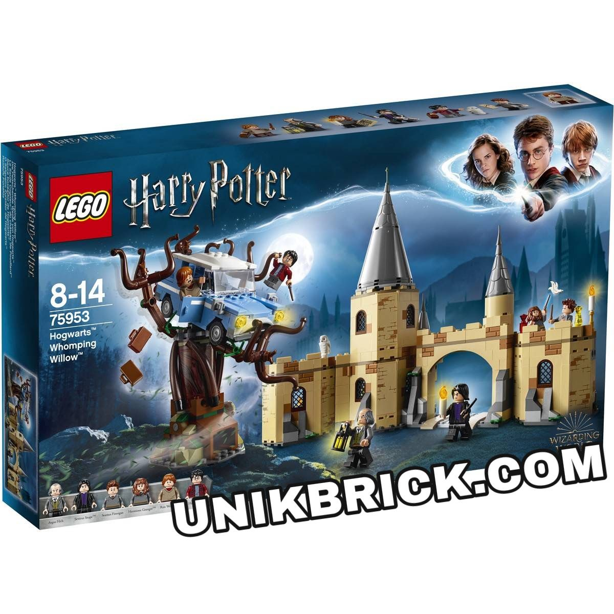 Lego Harry Potter 75953 Hogwarts Whomping Willow Giá Rẻ Unik Brick Hogwarts Harry Potter Lego Marvel