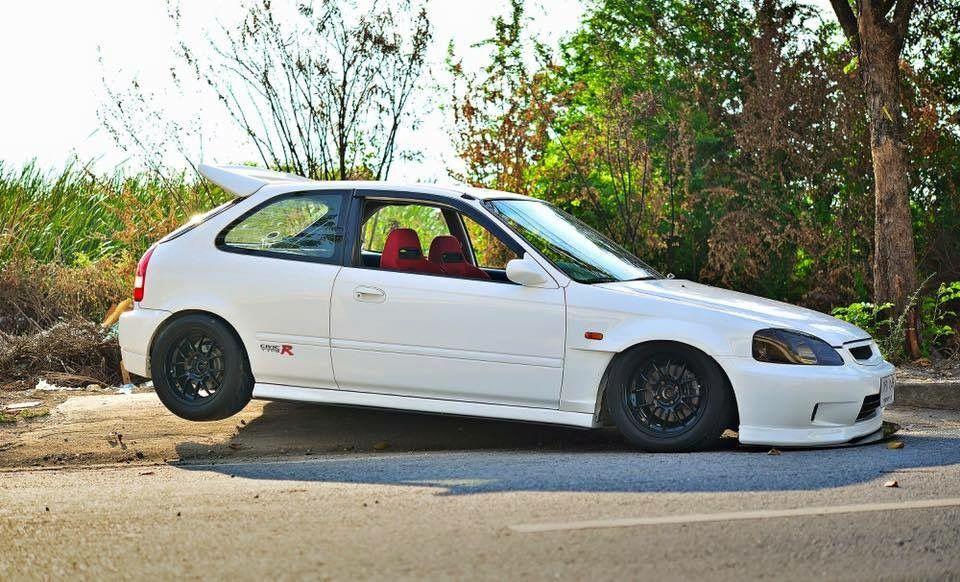 White Ek Hatchback Ek9 Pinterest Honda Honda Civic And Civic