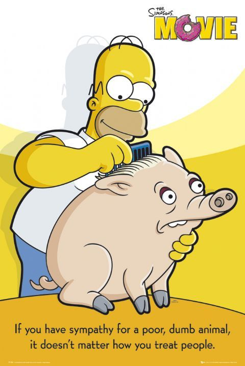 Oh Hommy The Simpsons Movie The Simpsons Dumb Animals