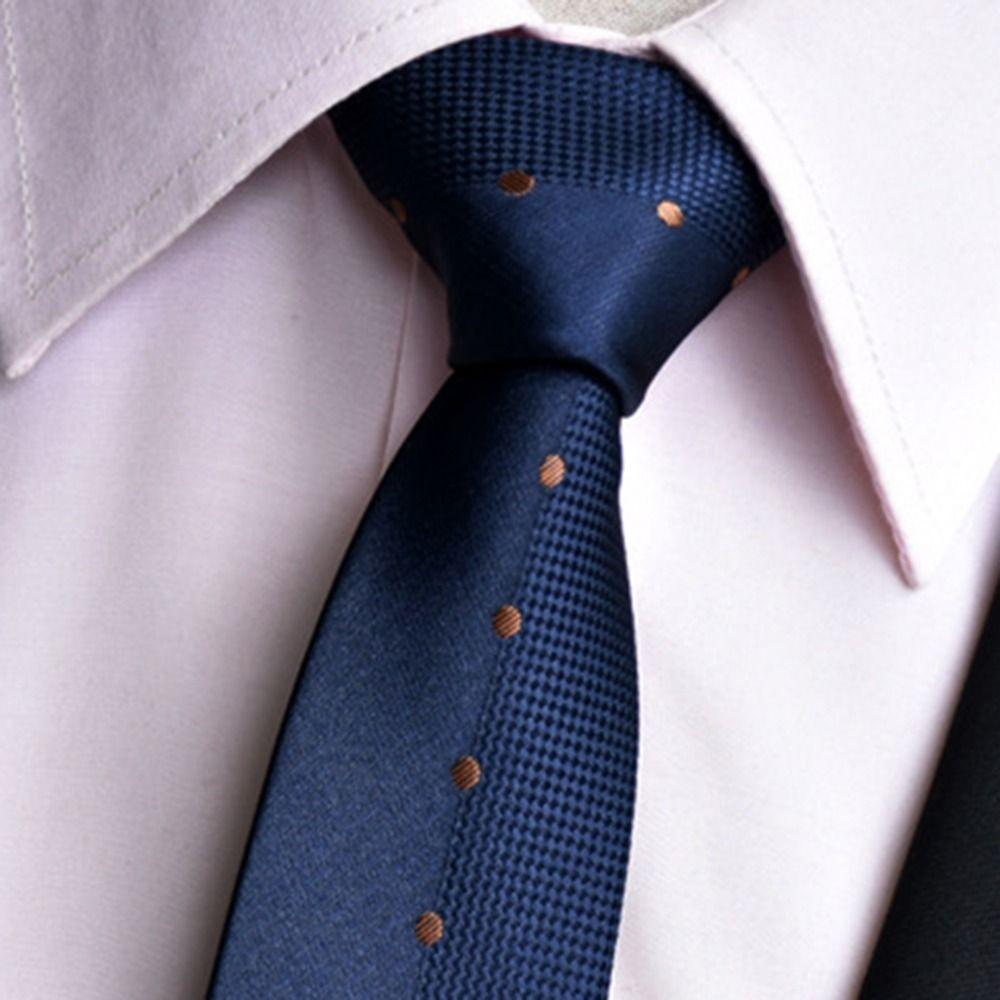 Classic mens ties new design neck ties dot striped ties for men