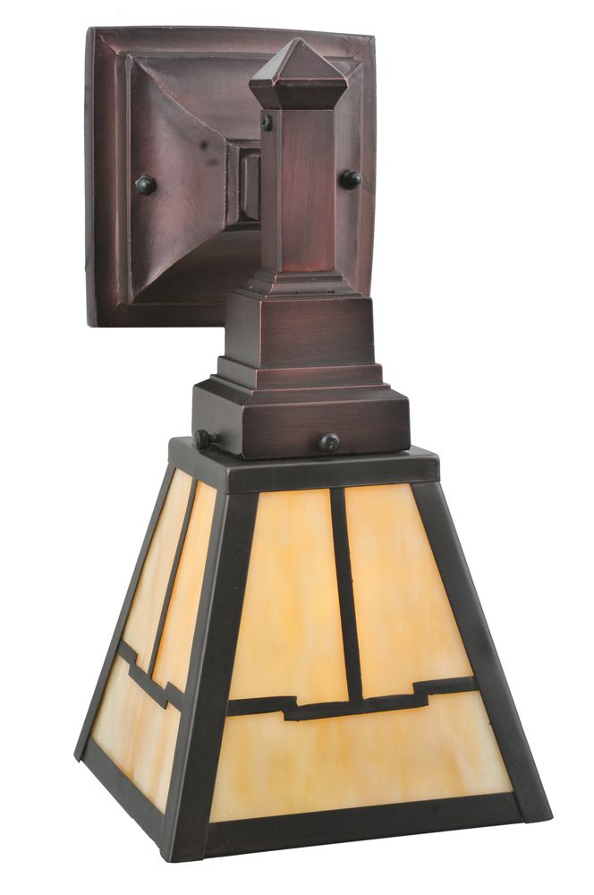 Mission Stickley 875 Inch Valley View Mission Wall Sconce By Meyda
