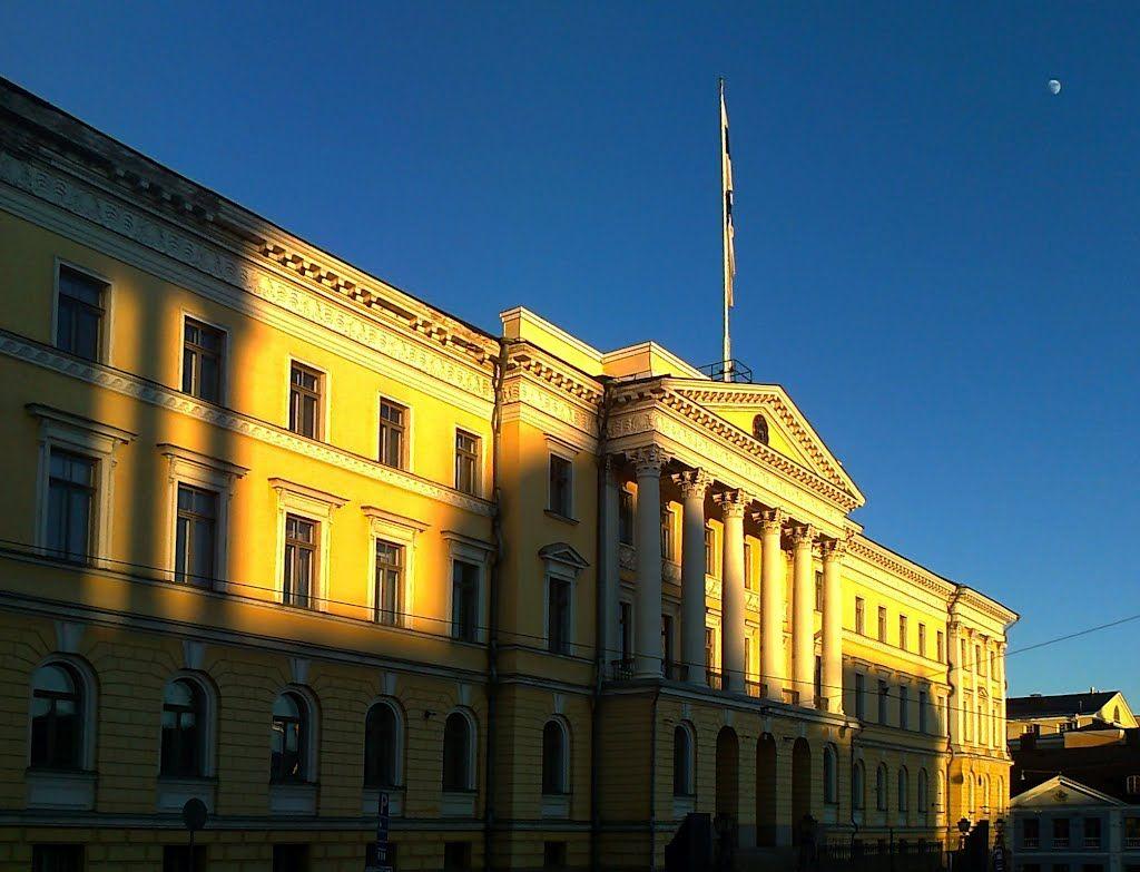 Valtioneuvoston linna. (Senaatintalo 1822) - photo rai-rai