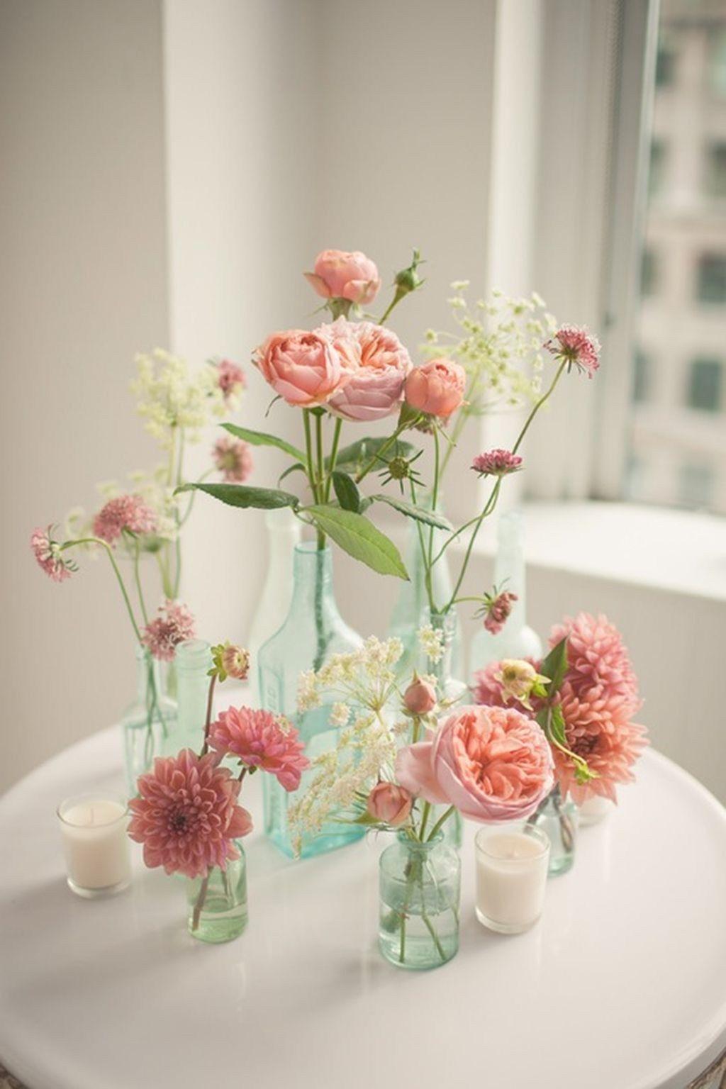 98 Simple Spring Wedding Centerpiece Ideas You Will Love