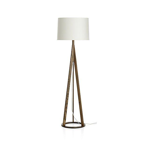 Jackson Dark Brown Floor Lamp Crate, Brown Floor Lamp