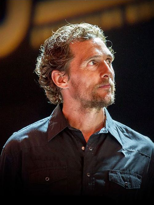 Matthew McConaughey at the MJM Texas Stampede charity auction on April 25 (photo by Jim Chapin)  madonnina santa