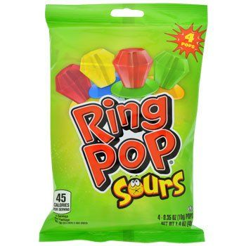 Ring Pop Sours, 4-ct. Pack