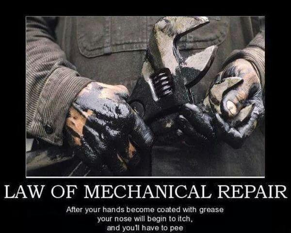 Law of Mechanical Repair