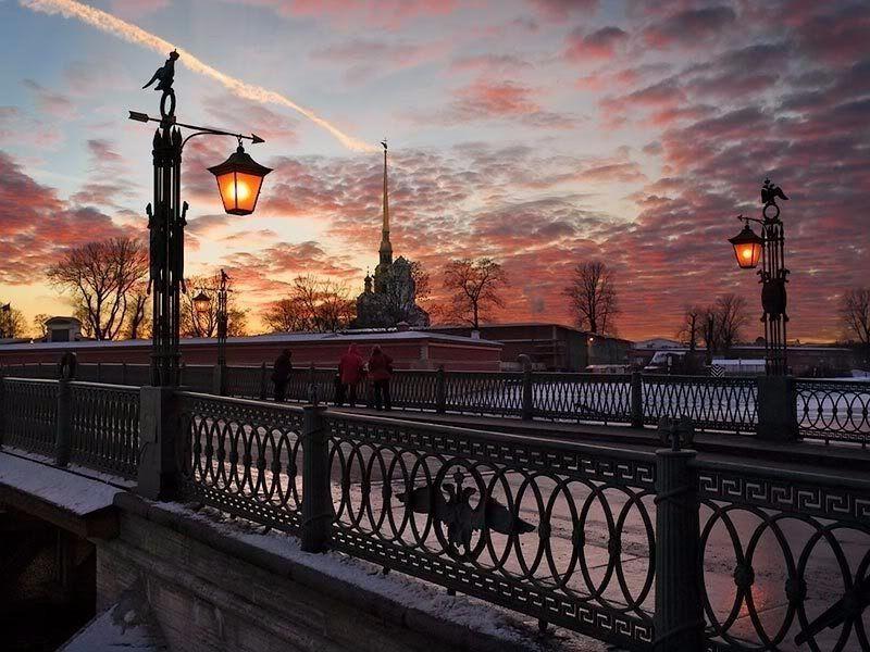 картинки петербург при свете фонарей туристы отправляются самому