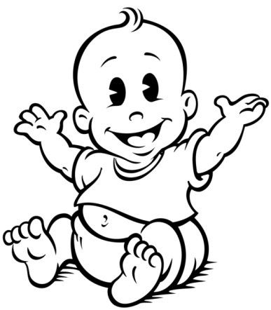 Baby Boy Clip Art | Ages and Stages of Child Development