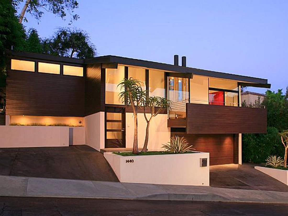 Modern home in los angeles