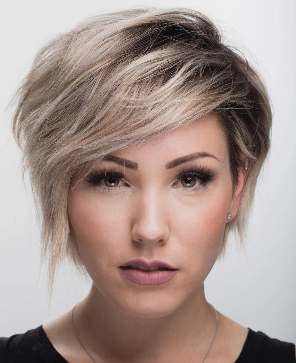 flattering haircuts and hairstyles for oval faces pixie bob