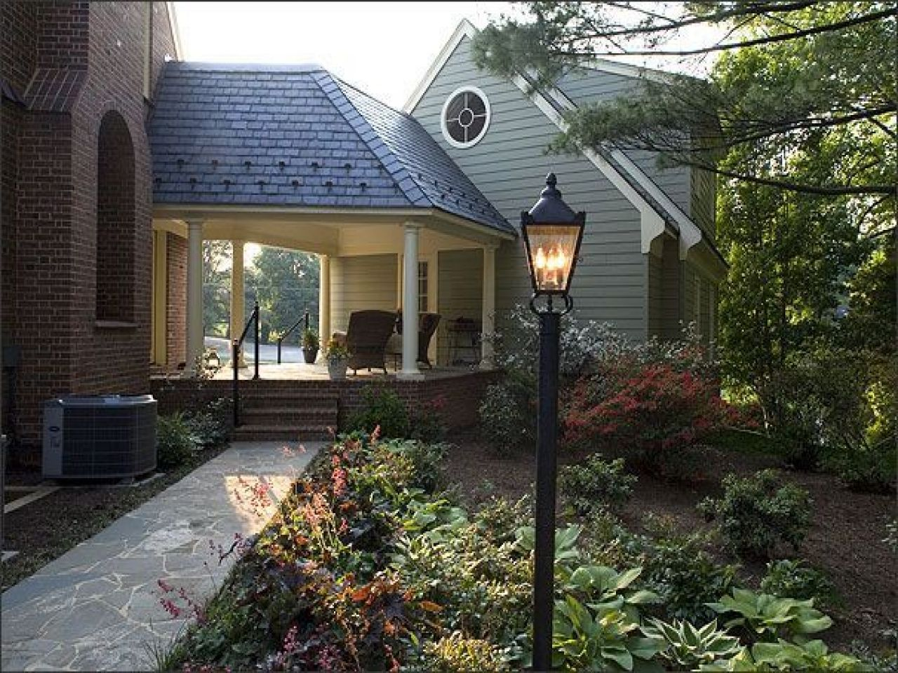 Detached Garage Connected To Wrap Around Porch With A Breezeway Description From Pinterest Com I Searched For This Garage House Plans Garage House Breezeway