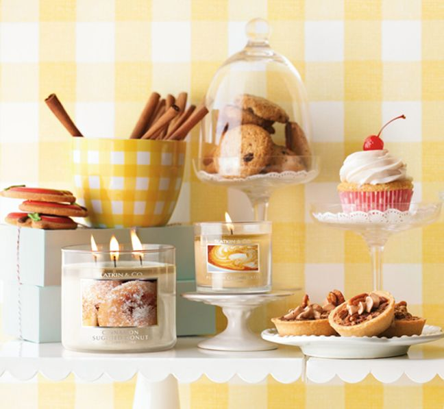 Decorate any room with your favorite sweet treats from Bath & Body Works <3    #BBWHome