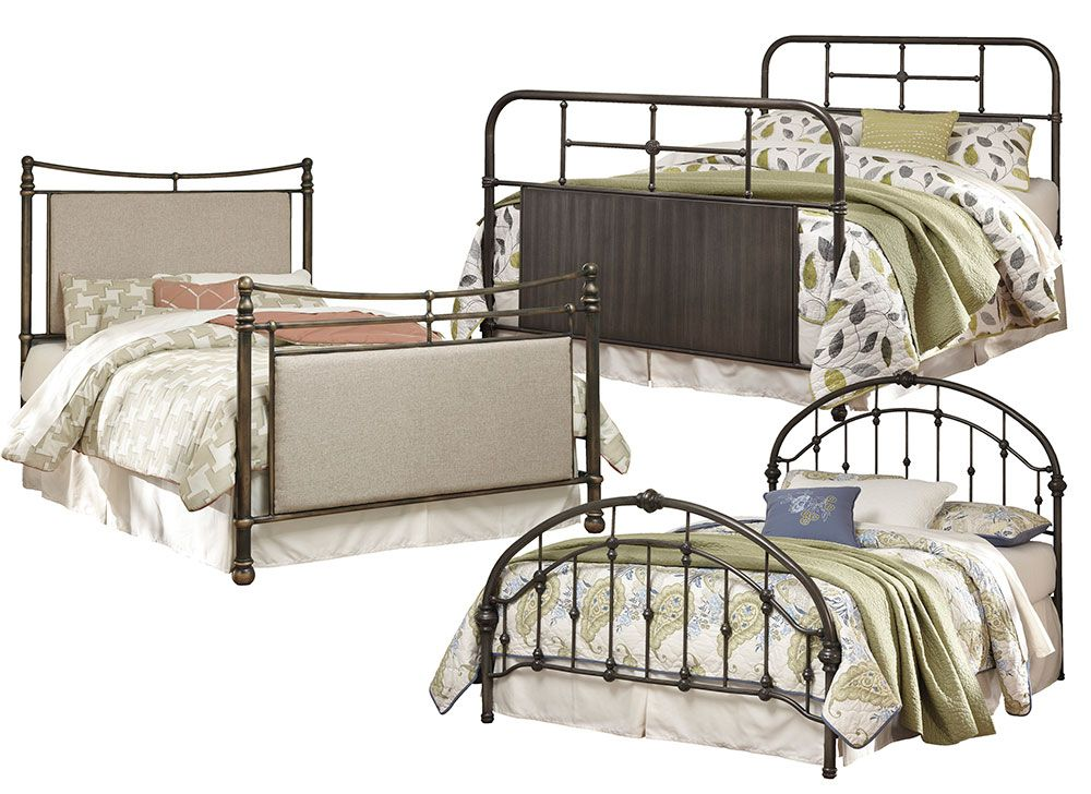 Nashburg Metal Beds Furniture For Less Queen metal bed