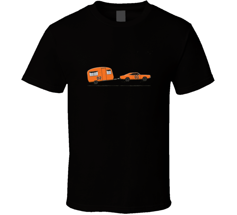 Hazzard General Lee 01 02....Funny T-Shirt