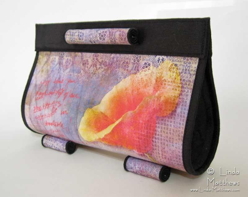 Reminisce Art Bag: Inkjet Print on Fabric