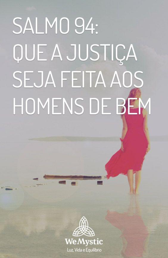 Salmo 94 Que A Justica Seja Feita Aos Homens De Bem Livro De Salmos