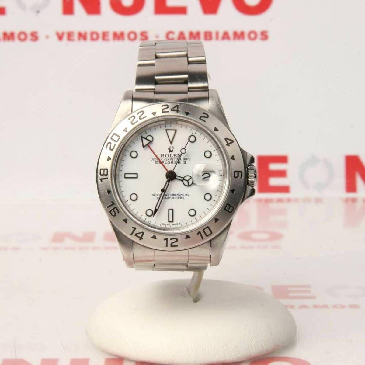 Reloj Rolex Explorer Ii 16570 De Segunda Mano E276650 Rolex Explorer Rolex Explorer Ii Relojes Rolex