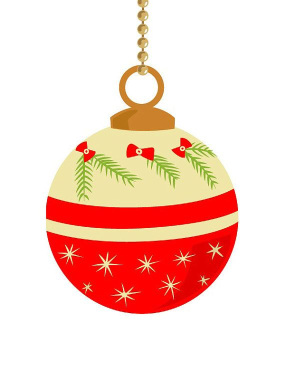Christmas Ball Clipart.Pin By Reba Gibbons On A Very Merry Christmas Vintage