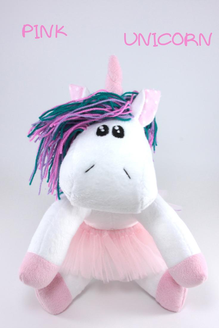 Unicorn Stuffed Toy For Baby Girl White And Pink Unicorn Etsy Baby Girl Toys Unicorn Stuffed Animal Unicorn Plush [ 1102 x 735 Pixel ]