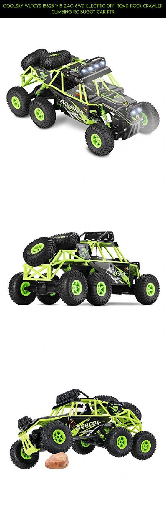 Goolsky Wltoys 18628 1/18 2.4G 6WD Electric Off-Road Rock Crawler ...