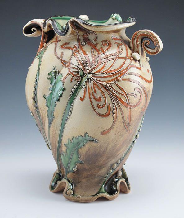 Carol Long Pottery Pottery Art Pottery Vase Ceramic Sculpture