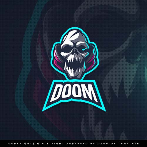 Doom Logo Overlaytemplate Logo Archive Doom Logos
