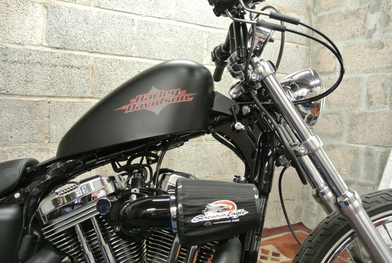 Photo 3 Harley Davidson Sportster 72 1200 Bobber Motorbike