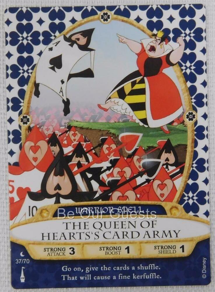 Disney sorcerers of the magic kingdom card 37 the queen