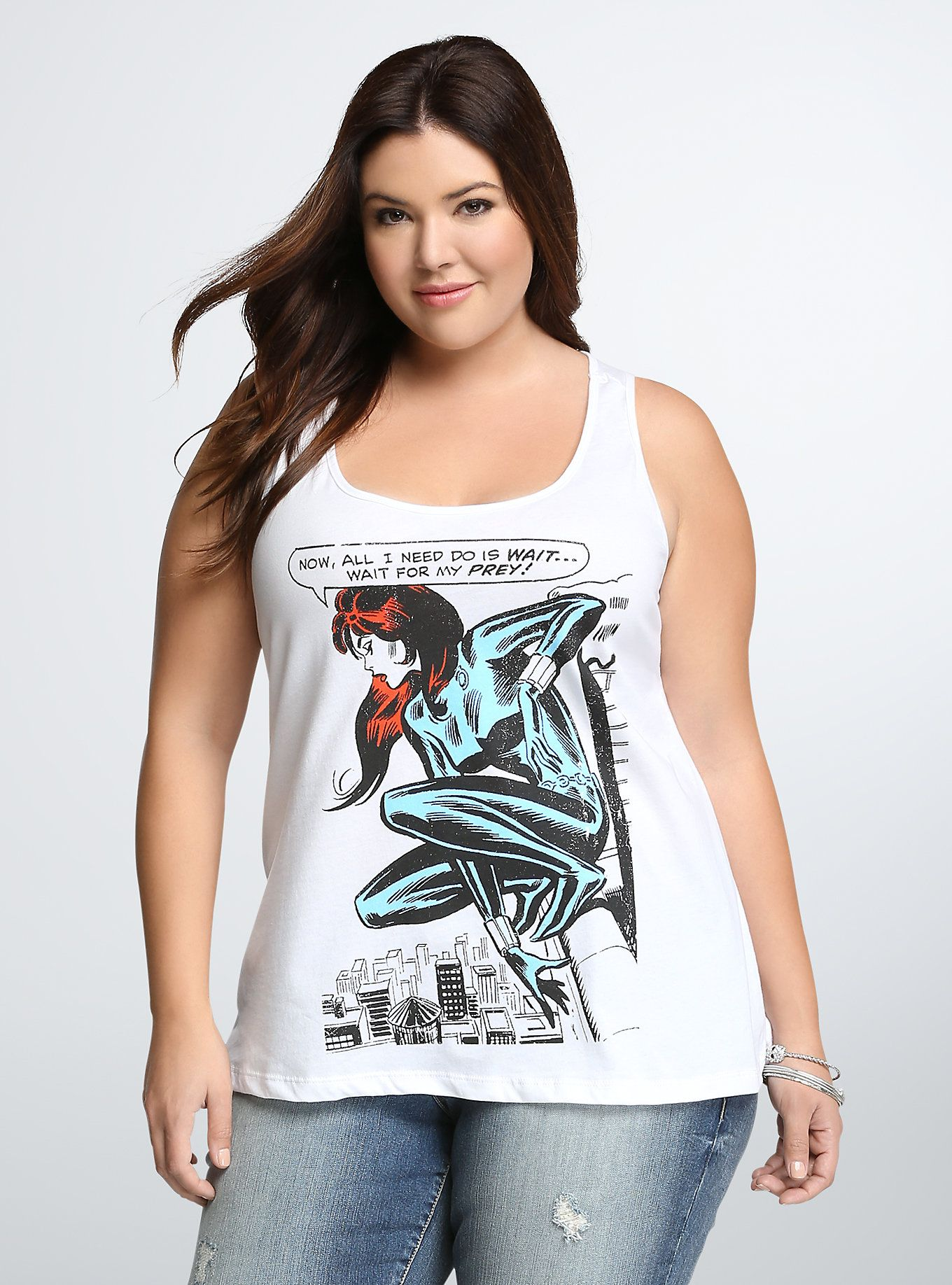 1bf0083174b60 Marvel Black Widow Racerback Tank Top