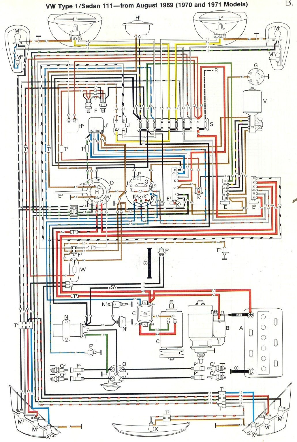 Inspirational 1971 Vw Beetle Wiring Diagram In 2020 Volkswagen Car Vw Beetles Vw Bug
