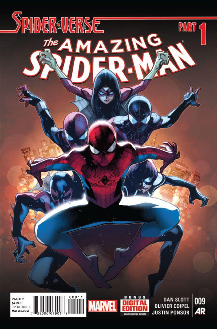 Spiderverse- Universo spiderman Parte 1