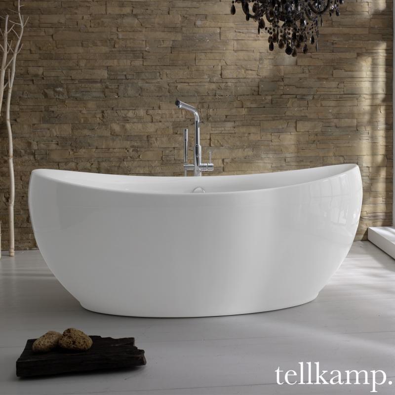 Tellkamp Spirit freistehende Oval Badewanne | Bäder | Pinterest ... | {Badewanne freistehend an wand preise 22}