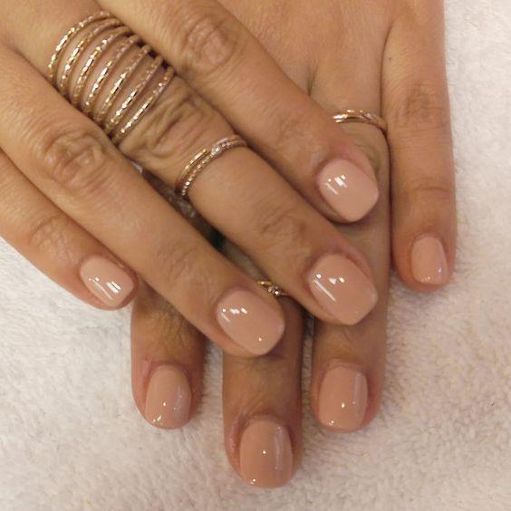 49 Short Square Round Acrylic Nail Designs Short Acrylic Nails