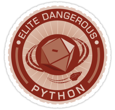 Fly Your Elite Dangerous Flag With This Attractive Design Great For The Rear Car Window As A Sticker Or Your Own Personal Elite Red Bubble Stickers Dark Red