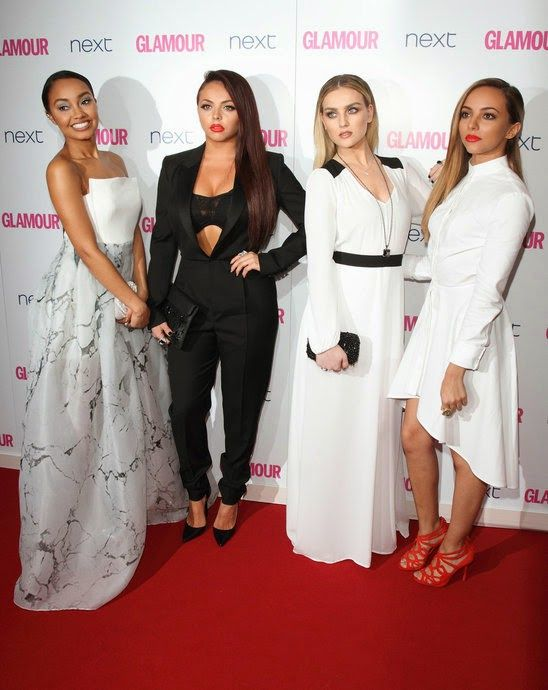 GOSSIP OVER THE WORLD: Glamour Woman Of The Year 2014 ......Little Mix